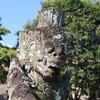タマンアユン寺院 入り口の石像