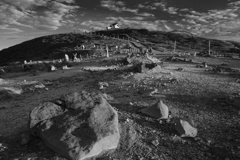 蔵王山頂の神社