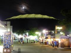 月夜のメットライフドーム