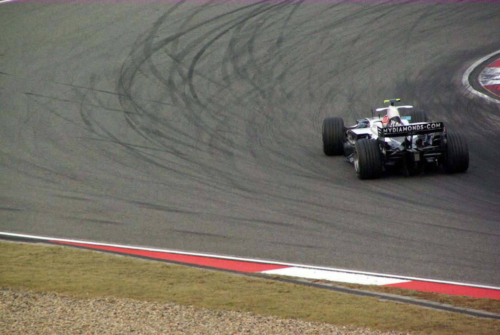 2008年F1上海グランプリ 8