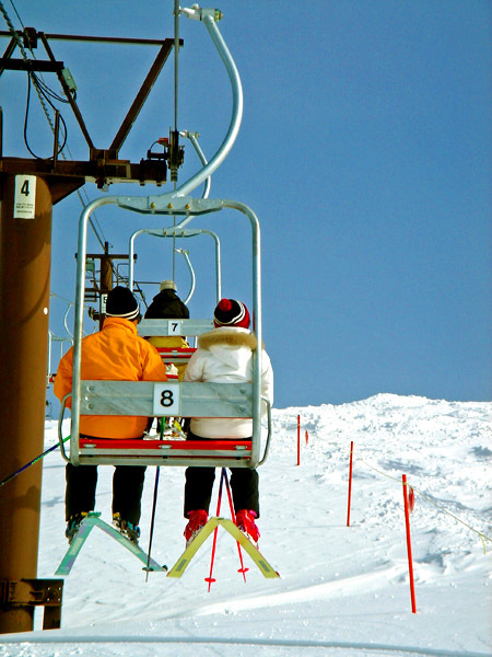 雪山スキー