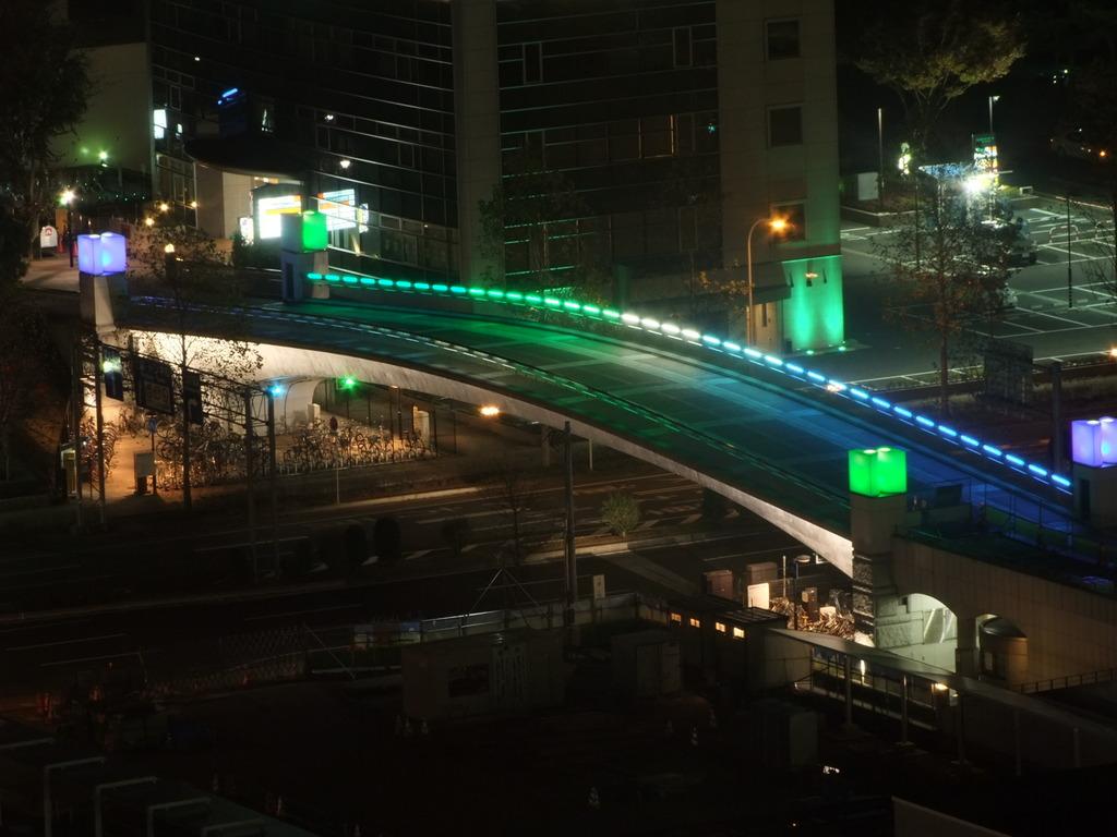 研究学園都市~夜景
