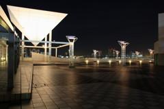 晴海埠頭~都会の建造物