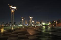 晴海埠頭~都会の夜景②