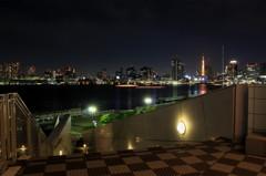 晴海埠頭~都会の夜景③