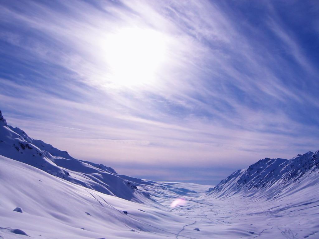 Snow @Alaska