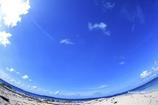 南太平洋の空と海。。