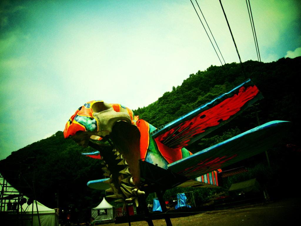 パレスの飛行機