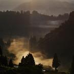PENTAX PENTAX K-7で撮影した(霧の河)の写真(画像)