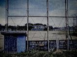 フェンスの裏側から校庭を見ることが多かった・・。それが僕の青春時代。