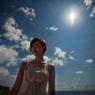 CANON Canon EOS 5D Mark IIで撮影した人物(屋久島・屋久島灯台にて)の写真(画像)