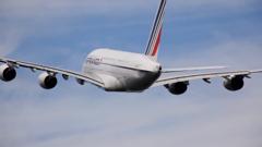 エールフランスエアバスA380