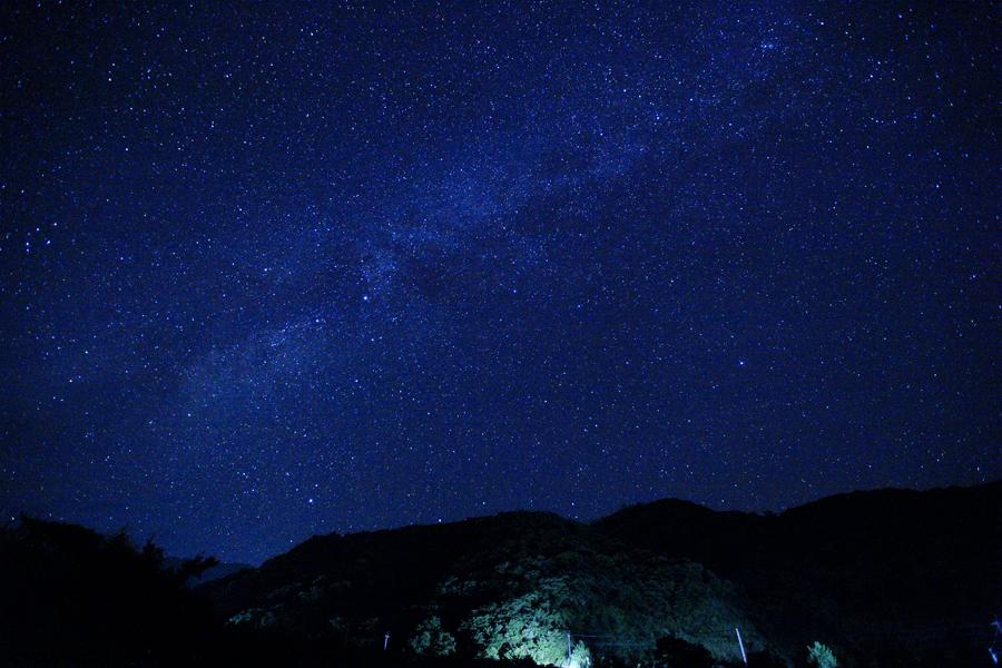 一湊の星空