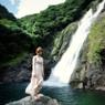 CANON Canon EOS 5D Mark IIで撮影した人物(屋久島・大川(おおこ)の滝にて)の写真(画像)