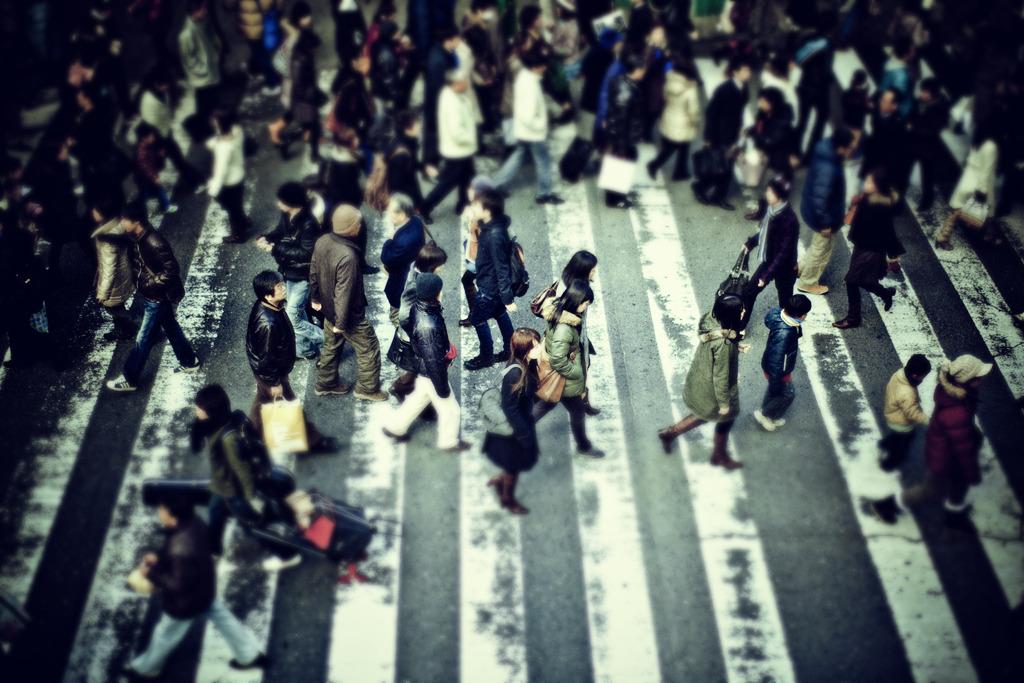 横断歩道の物語〜ミニチュア編#3〜