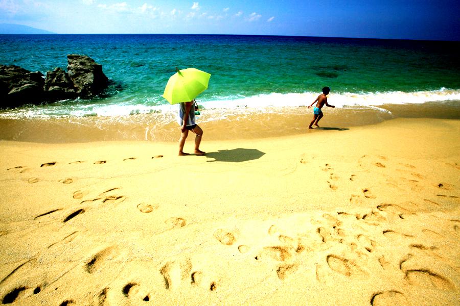 いなか浜の昼下がり