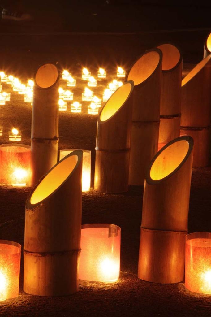 竹燈夜(18日)