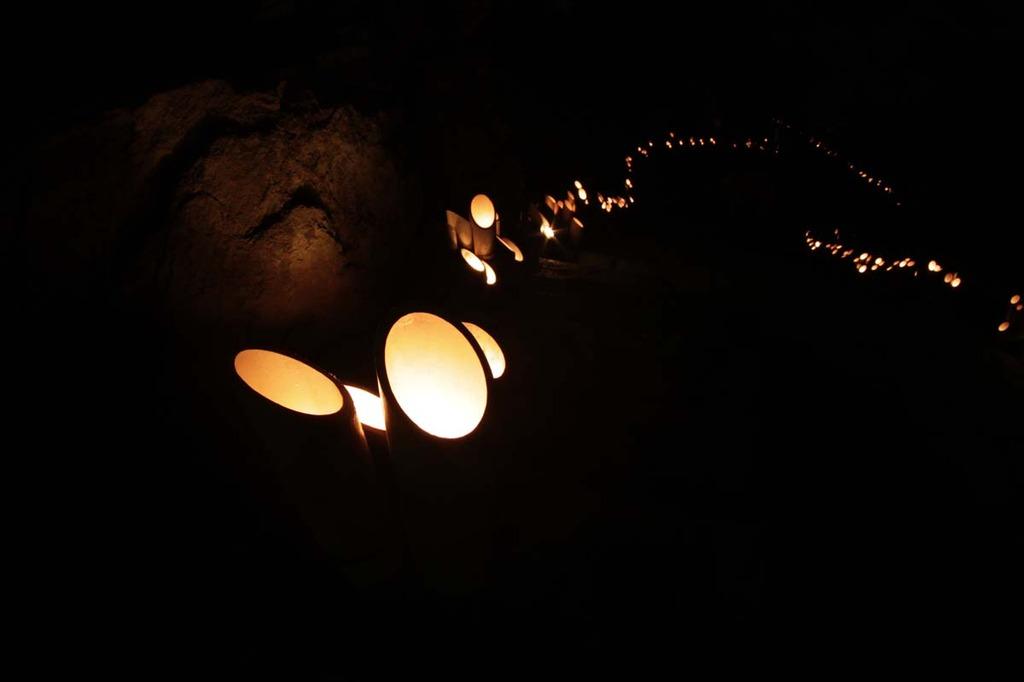 竹燈夜(17日)