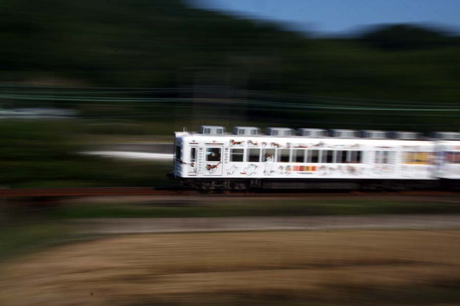 たま電車疾走