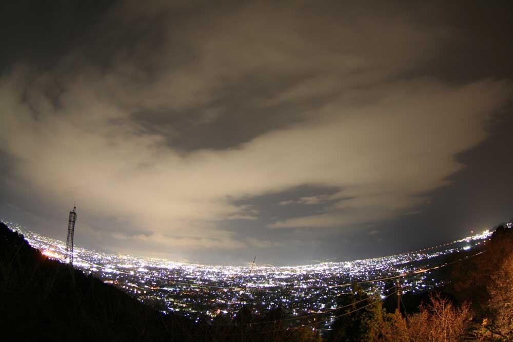 岩本山公園から