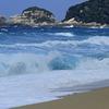 荒れる屋久島の海