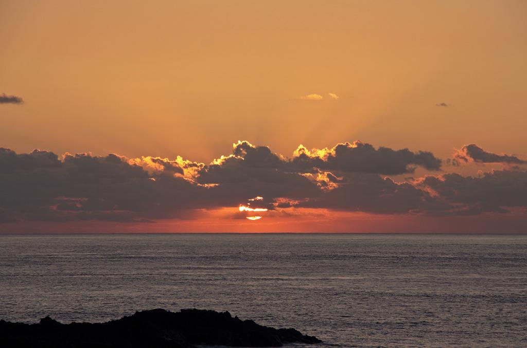 日の出 in Yakushima