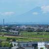珍しい夏富士