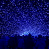 光のトンネル(青)