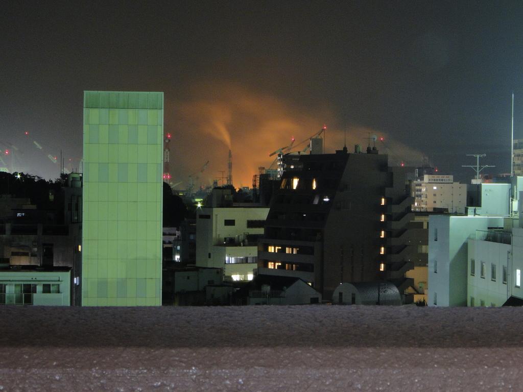 ベランダからの眺め(夜景)