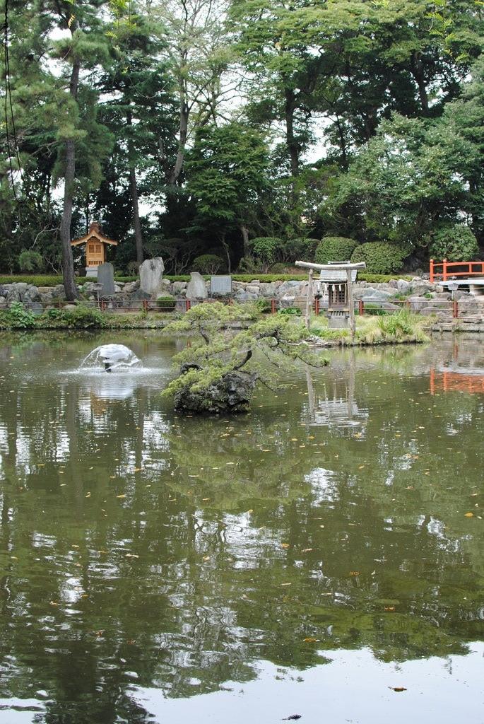 いかにも池