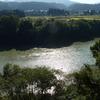 紅葉前の大河2