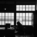 NIKON NIKON D90で撮影した人物(教室)の写真(画像)