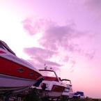 PENTAX PENTAX K-7で撮影した風景(陸上の船)の写真(画像)