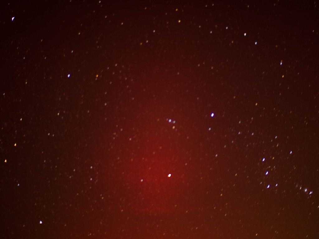 オリオン座流星撮れなかった