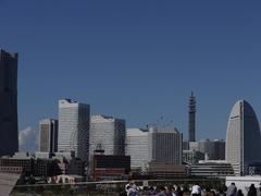 横浜の町並みってやつ