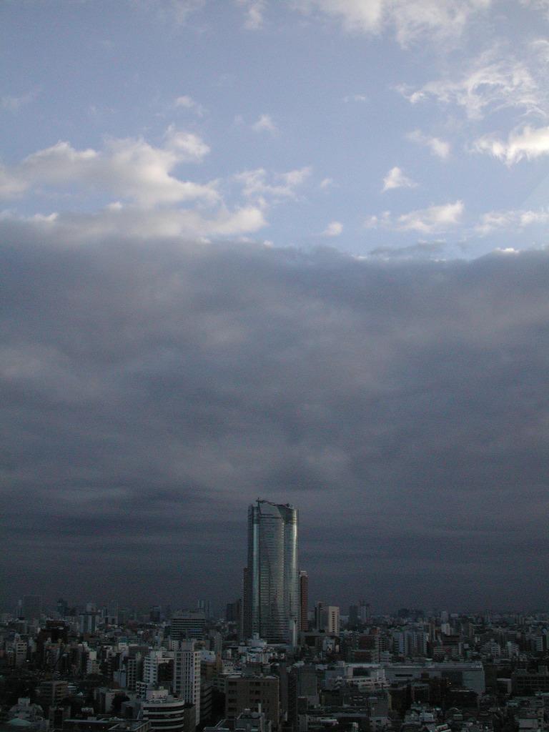 晴れと曇りの境界