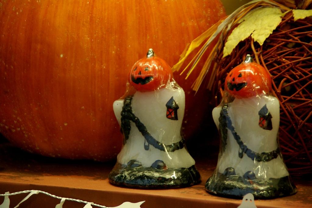 2人のかぼちゃ