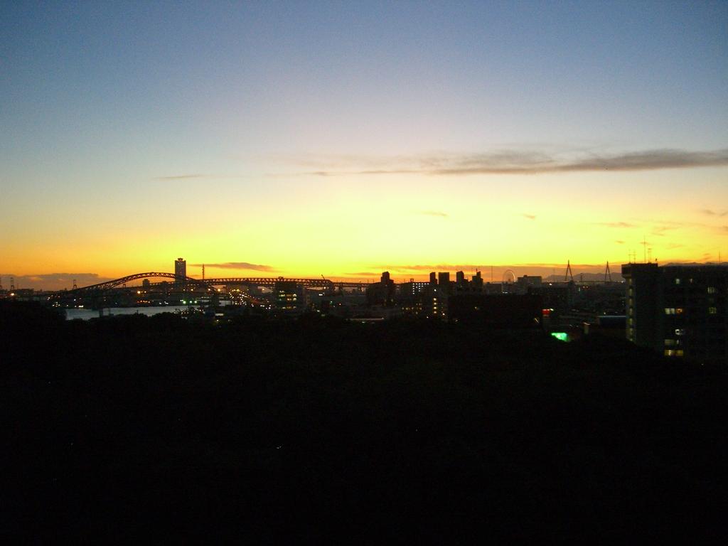 大阪の夕焼け2