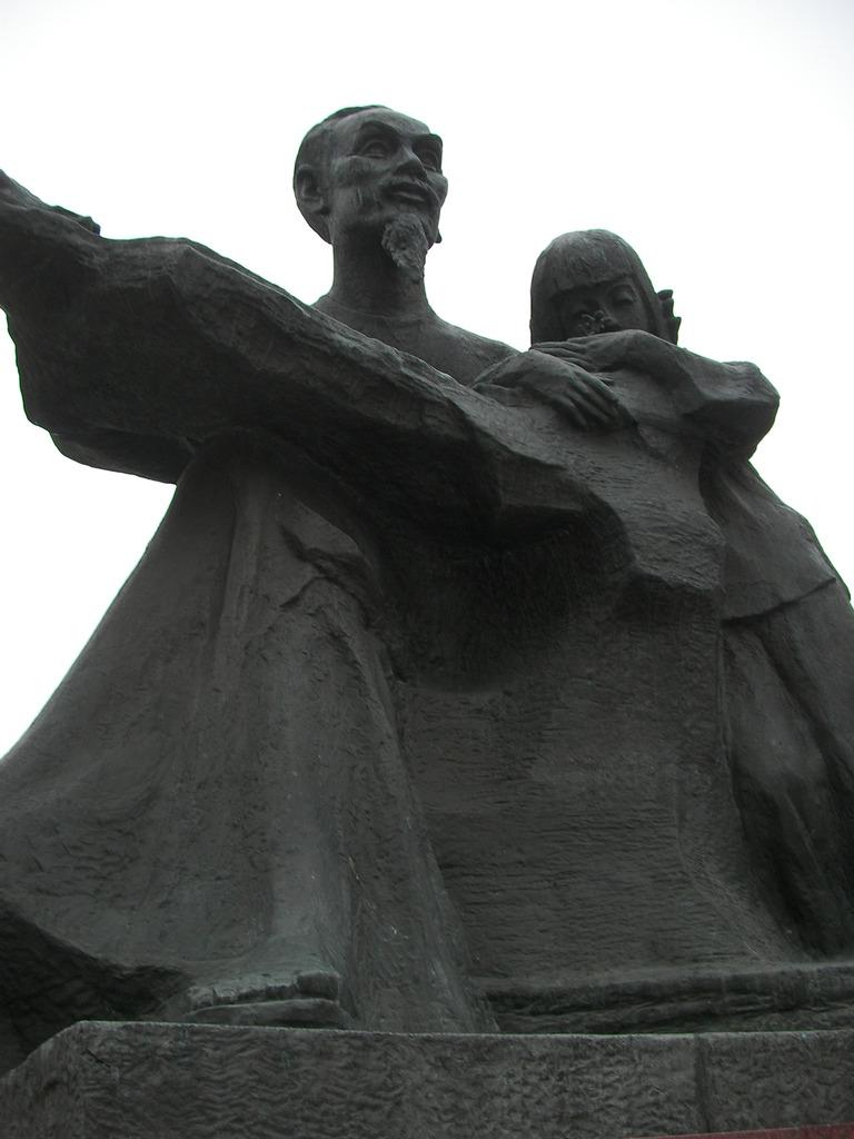 革命家ホー・チ・ミン像