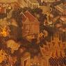 NIKON NIKON D70で撮影したインテリア・オブジェクト(タイ王国壁画)の写真(画像)