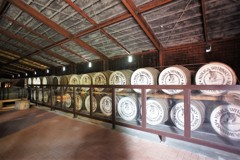 赤煉瓦の貯蔵庫