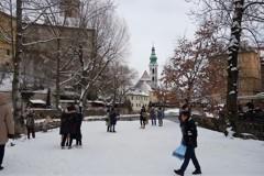 2月のチェスキークルムロフ