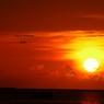 PENTAX PENTAX K-7で撮影した風景(那覇の夕日)の写真(画像)