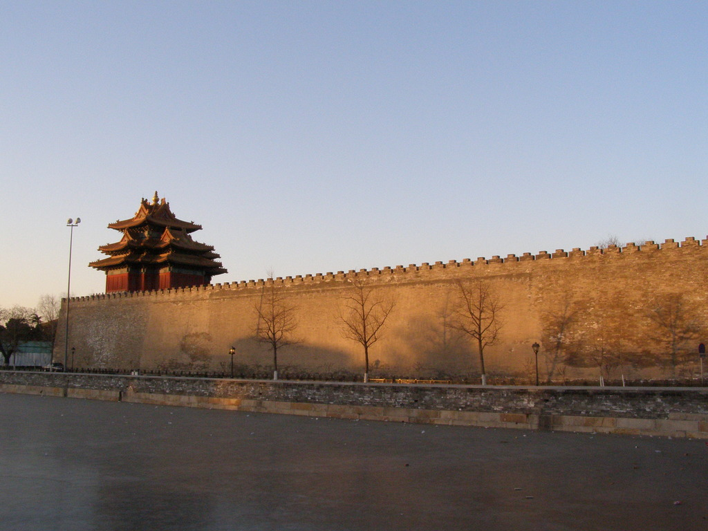 朝の紫禁城