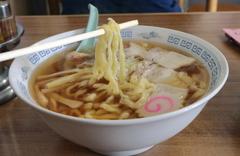 食堂なまえ 極太麺チャーシュー麺