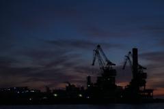 河口の工場
