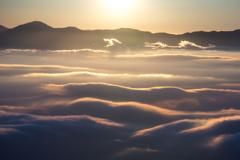 甘利山の雲海