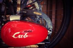 エンジン付きの自転車