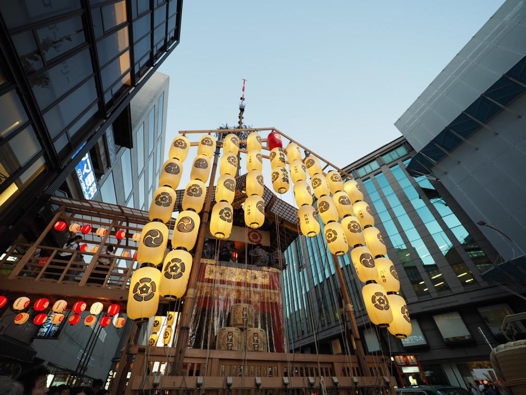 関西に住んでるのに実は初めて見に行った祇園祭