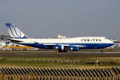 ユナイテッド航空 旧塗装